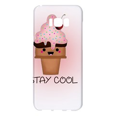Stay Cool Samsung Galaxy S8 Plus Hardshell Case  by ZephyyrDesigns