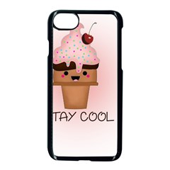 Stay Cool Apple Iphone 7 Seamless Case (black) by ZephyyrDesigns