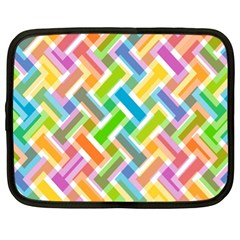 Cool Abstract Pattern Colorful Netbook Case (xl)  by goodart