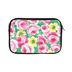 Flower Wallpaper Pattern Pattern Apple Ipad Mini Zipper Cases by goodart