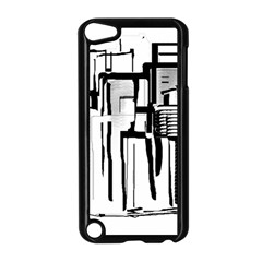 Black And White City Apple Ipod Touch 5 Case (black) by digitaldivadesigns