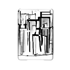 Black And White City Ipad Mini 2 Hardshell Cases by digitaldivadesigns