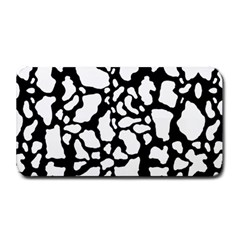 Black White Cow Print Medium Bar Mats