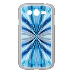 Abstract Blue Samsung Galaxy Grand Duos I9082 Case (white)