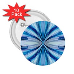 Abstract Blue 2 25  Buttons (10 Pack)  by LoolyElzayat