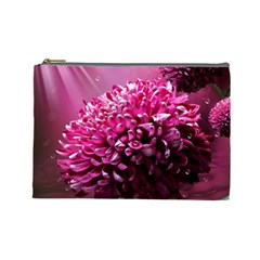 Majestic Flowers Cosmetic Bag (large)