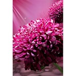 Majestic Flowers 5.5  x 8.5  Notebooks Back Cover Inside