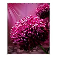 Majestic Flowers Shower Curtain 60  X 72  (medium)