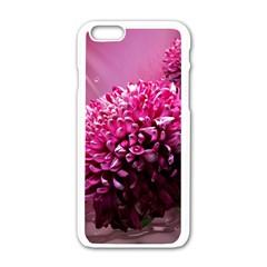 Majestic Flowers Apple Iphone 6/6s White Enamel Case