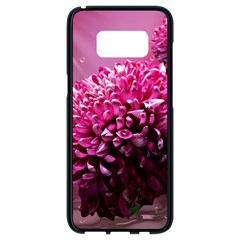 Majestic Flowers Samsung Galaxy S8 Black Seamless Case