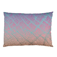 Pink Beige Elephant Skin Pillow Case (two Sides)