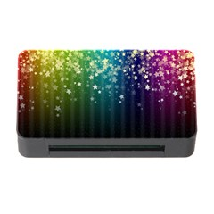Colorful Space Rainbow Stars Memory Card Reader With Cf