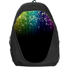 Colorful Space Rainbow Stars Backpack Bag