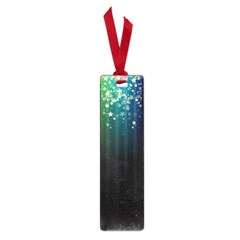 Colorful Space Rainbow Stars Small Book Marks