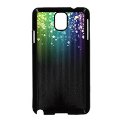 Colorful Space Rainbow Stars Samsung Galaxy Note 3 Neo Hardshell Case (black)