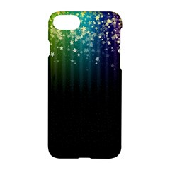 Colorful Space Rainbow Stars Apple Iphone 7 Hardshell Case