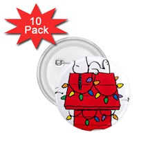 Peanuts Snoopy 1 75  Buttons (10 Pack)