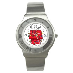 Peanuts Snoopy Stainless Steel Watch