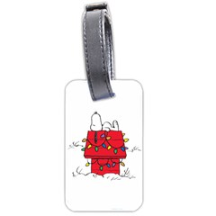 Peanuts Snoopy Luggage Tags (two Sides)
