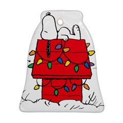 Peanuts Snoopy Bell Ornament (two Sides)
