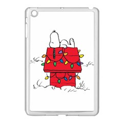 Peanuts Snoopy Apple Ipad Mini Case (white) by Samandel