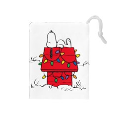 Peanuts Snoopy Drawstring Pouches (medium)