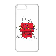 Peanuts Snoopy Apple Iphone 7 Plus Seamless Case (white)