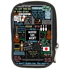 Book Quote Collage Compact Camera Cases