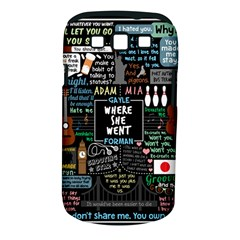 Book Quote Collage Samsung Galaxy S Iii Classic Hardshell Case (pc+silicone)