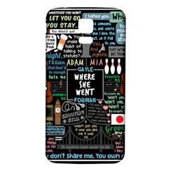 Book Quote Collage Samsung Galaxy S5 Back Case (white)