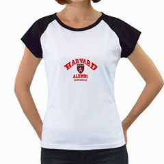 Harvard Alumni Just Kidding Women s Cap Sleeve T