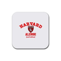 Harvard Alumni Just Kidding Rubber Square Coaster (4 Pack)