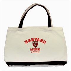 Harvard Alumni Just Kidding Basic Tote Bag by Samandel