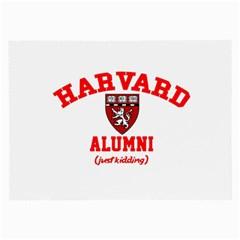 Harvard Alumni Just Kidding Large Glasses Cloth (2 Side)