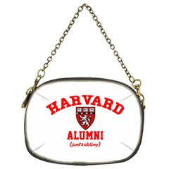 Harvard Alumni Just Kidding Chain Purses (two Sides)
