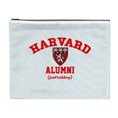 Harvard Alumni Just Kidding Cosmetic Bag (xl)