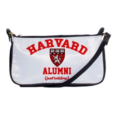 Harvard Alumni Just Kidding Shoulder Clutch Bags by Samandel