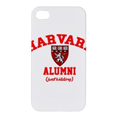Harvard Alumni Just Kidding Apple Iphone 4/4s Premium Hardshell Case