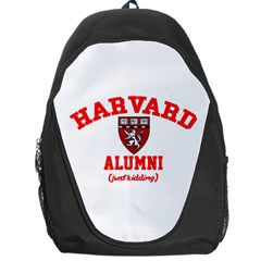 Harvard Alumni Just Kidding Backpack Bag