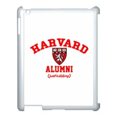 Harvard Alumni Just Kidding Apple Ipad 3/4 Case (white)