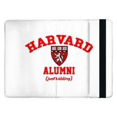 Harvard Alumni Just Kidding Samsung Galaxy Tab Pro 12 2  Flip Case