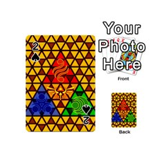 The Triforce Stained Glass Playing Cards 54 (mini)