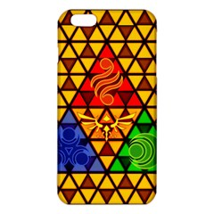 The Triforce Stained Glass Iphone 6 Plus/6s Plus Tpu Case