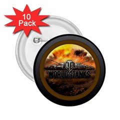 World Of Tanks Wot 2 25  Buttons (10 Pack)
