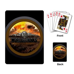 World Of Tanks Wot Playing Card