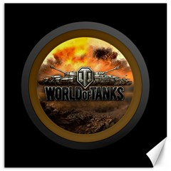 World Of Tanks Wot Canvas 12  X 12   by Samandel