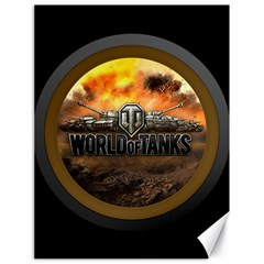 World Of Tanks Wot Canvas 18  X 24