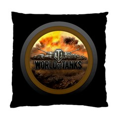 World Of Tanks Wot Standard Cushion Case (two Sides) by Samandel