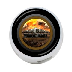 World Of Tanks Wot 4 Port Usb Hub (one Side)