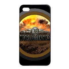 World Of Tanks Wot Apple Iphone 4/4s Seamless Case (black)